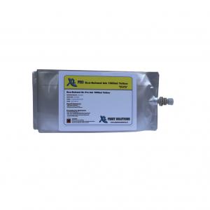 Eco-Solvent XL 1000ml inktzak Yellow
