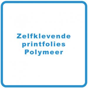 Zelfklevende printfolies Polymeer