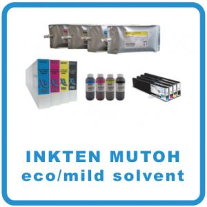 Inkten - Mutoh eco/mild solvent