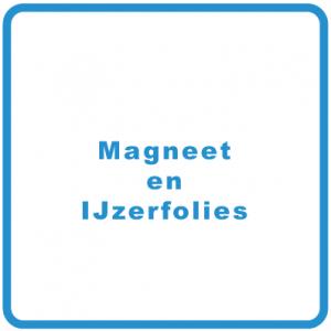 Magneet en IJzerfolies