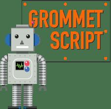 Grommet script adobe illustrator